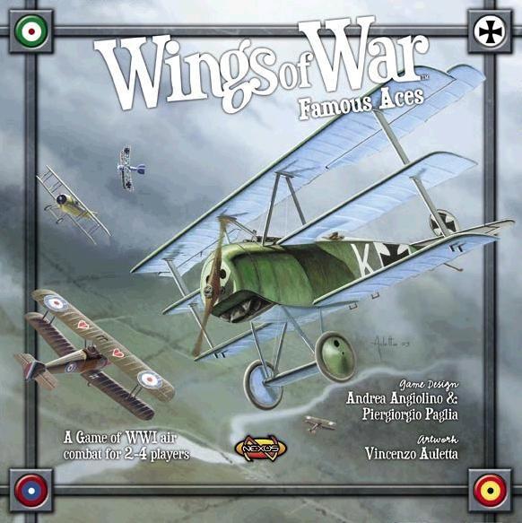 настольная игра Wings of War: Famous Aces Крылья войны: знаменитые тузы