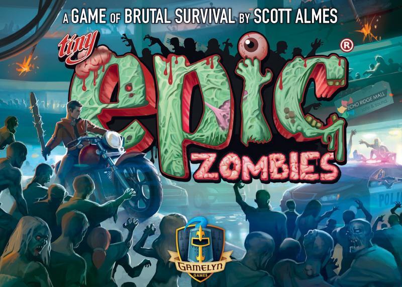 настольная игра Tiny Epic Zombies Крошечные эпические зомби