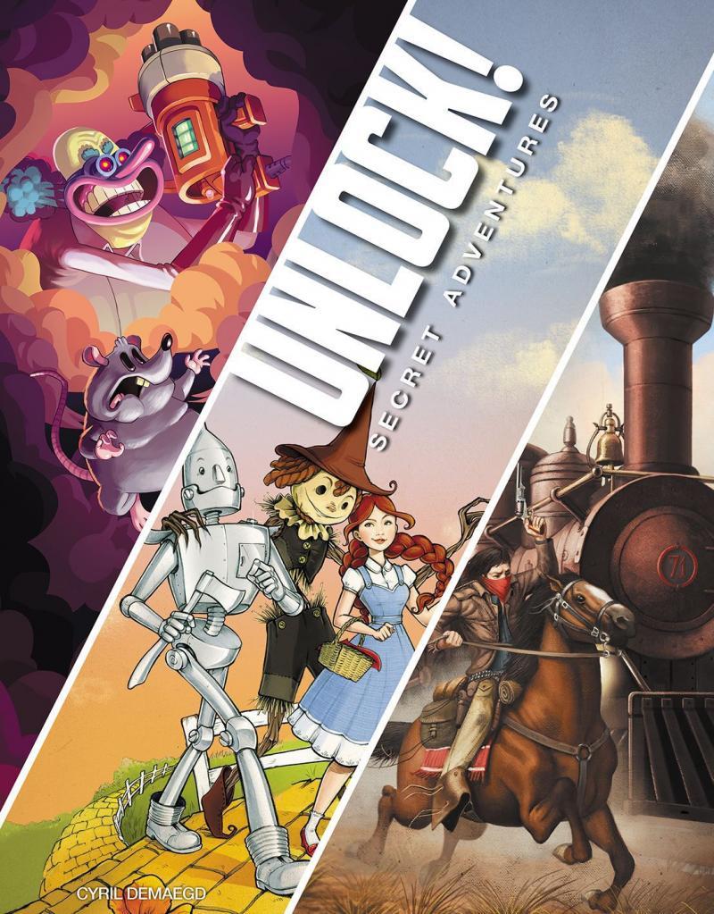 настольная игра Unlock! Secret Adventures Открой! Секретные приключения