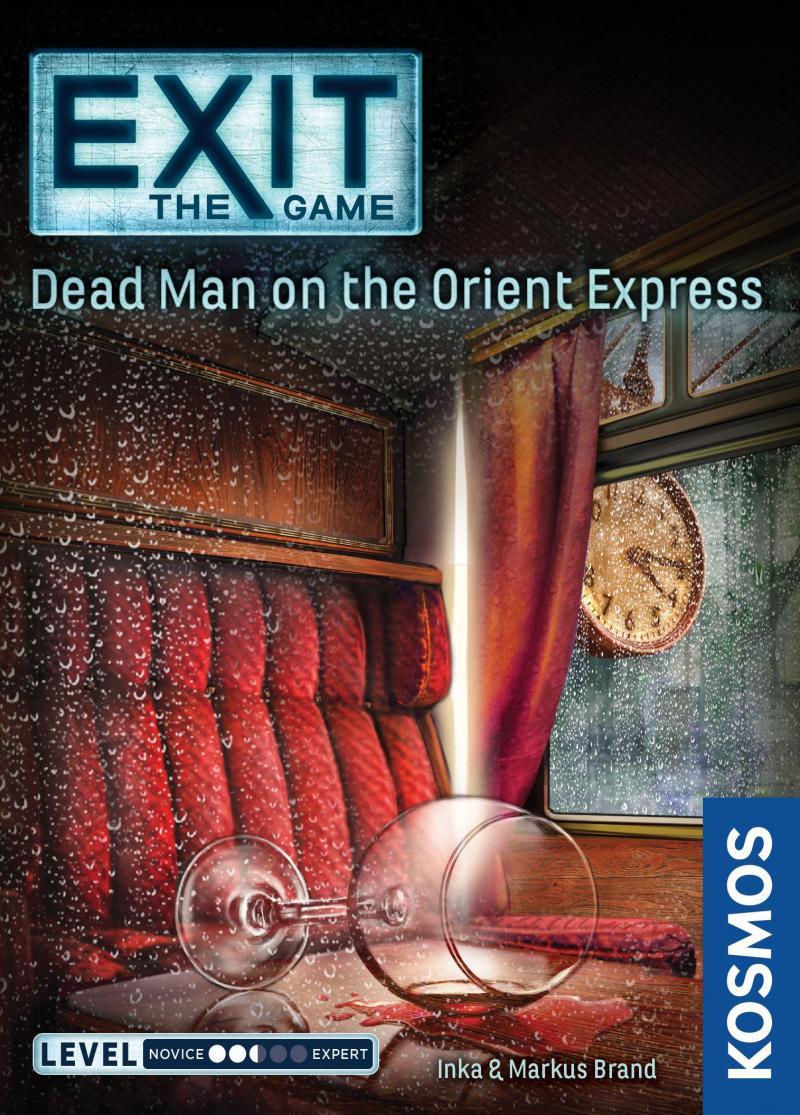 настольная игра Exit: The Game – Dead Man on the Orient Express Выход: Игра - Мертвец на Восточном экспрессе