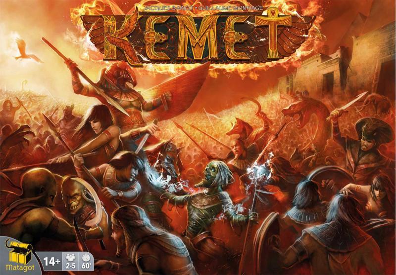 настольная игра Kemet