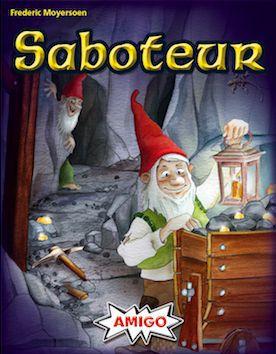 настольная игра Saboteur Диверсант