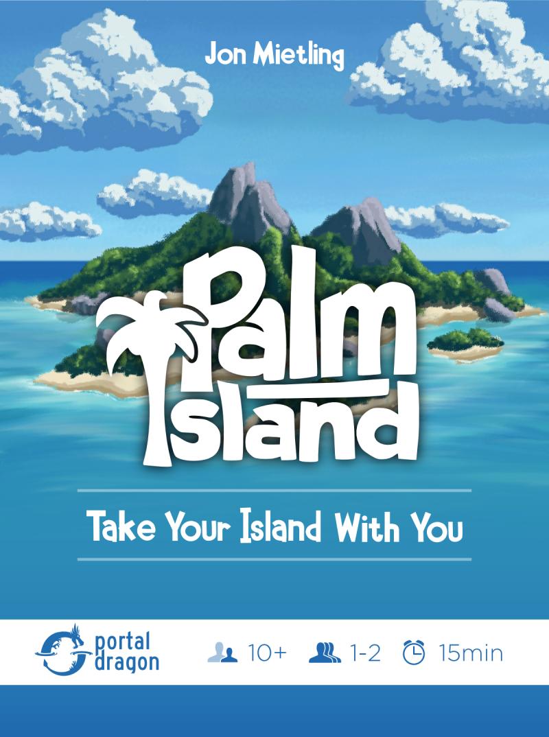 настольная игра Palm Island Пальмовый остров