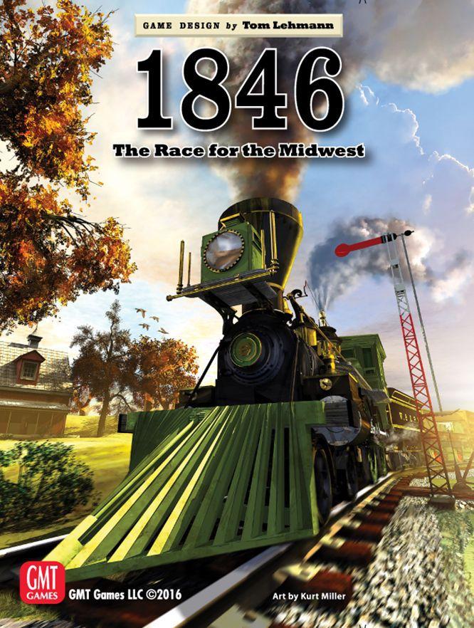 настольная игра 1846: The Race for the Midwest 1846: Гонка за Средний Запад