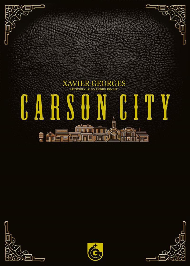 настольная игра Carson City: Big Box Карсон Сити: Большая Коробка