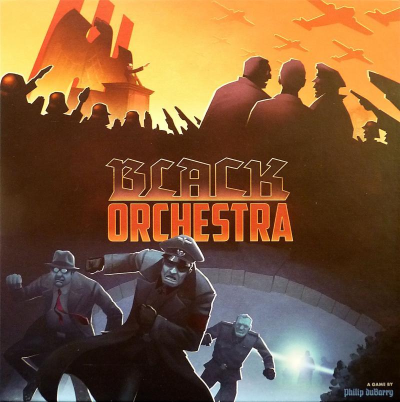 настольная игра Black Orchestra Черный оркестр