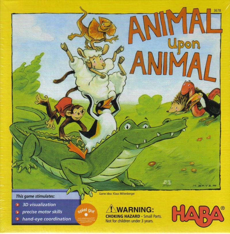 настольная игра Animal Upon Animal Животное на животное