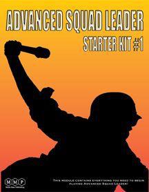 настольная игра Advanced Squad Leader: Starter Kit #1 Продвинутый командир отряда: стартовый комплект № 1