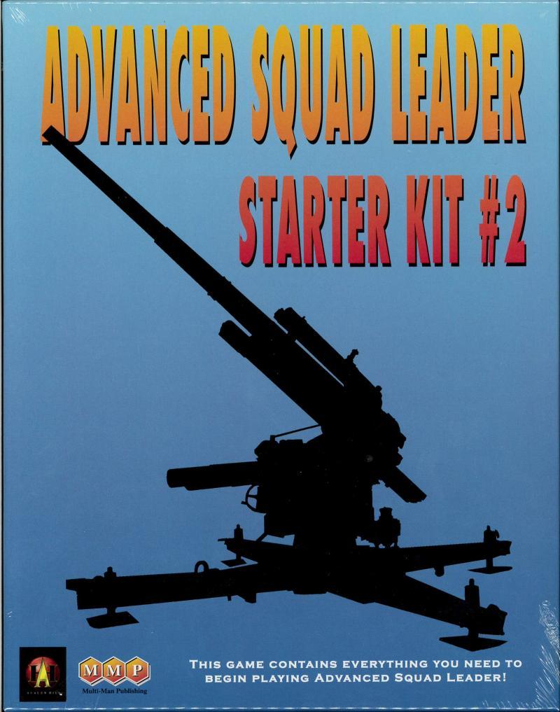 настольная игра Advanced Squad Leader: Starter Kit #2 Продвинутый командир отделения: стартовый комплект № 2