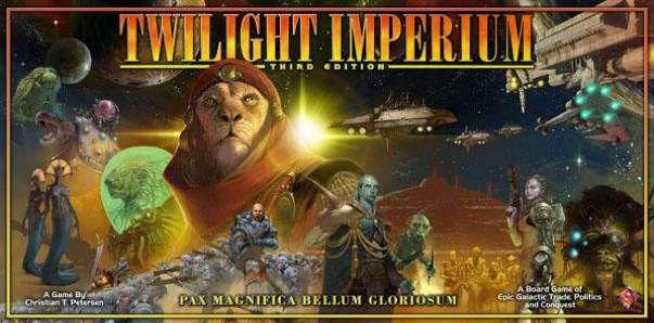 настольная игра Twilight Imperium (Third Edition) Сумеречный Империум (Третье издание)