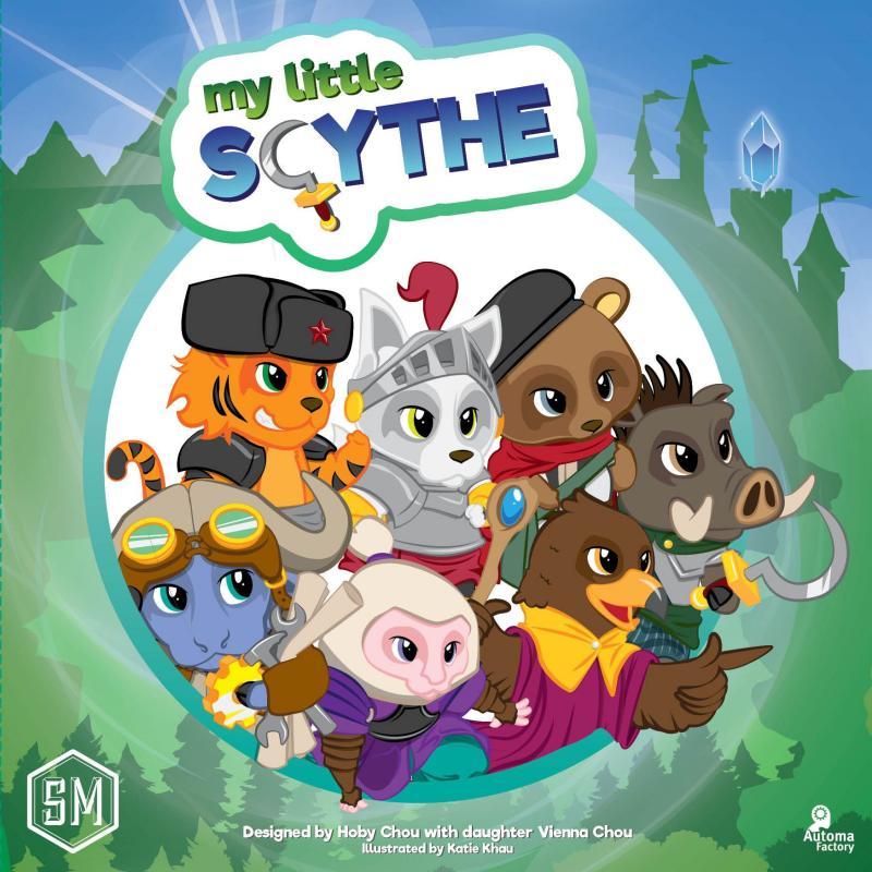 настольная игра My Little Scythe Моя маленькая коса