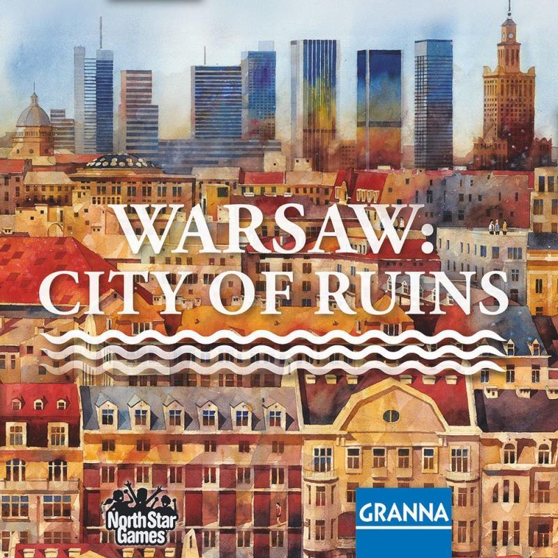настольная игра Warsaw: City of Ruins Варшава: город руин