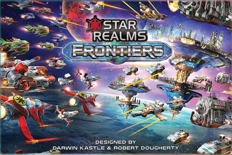настольная игра Star Realms: Frontiers Звездные Царства: Границы