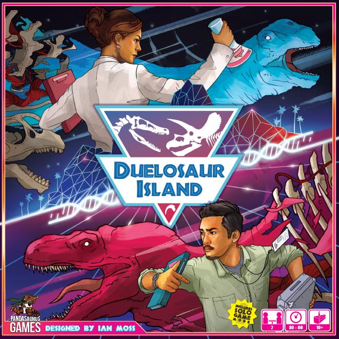 настольная игра Duelosaur Island Остров дуэлозавра