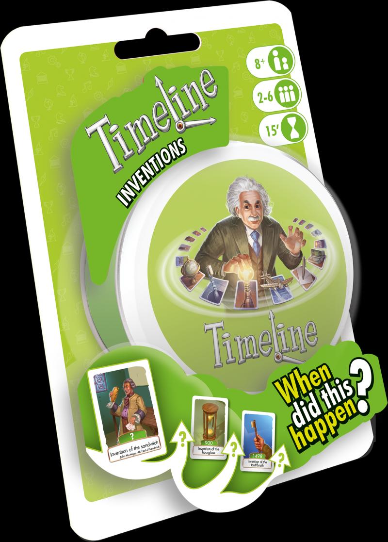 настольная игра Timeline: Inventions Хронология: изобретения