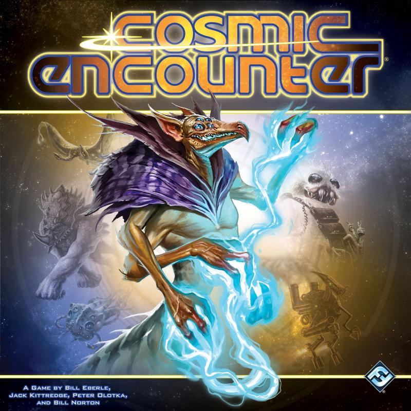 настольная игра Cosmic Encounter Космическая встреча