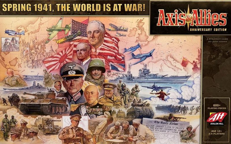 настольная игра Axis & Allies Anniversary Edition Юбилейное издание Axis & Allies