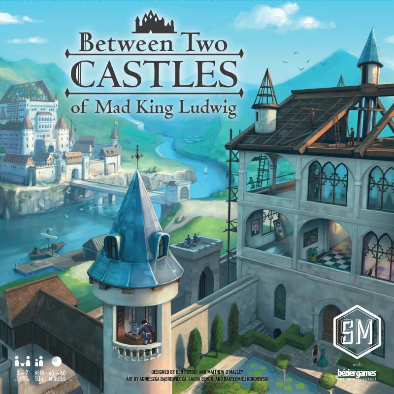 настольная игра Between Two Castles of Mad King Ludwig Между двумя замками безумного короля Людвига