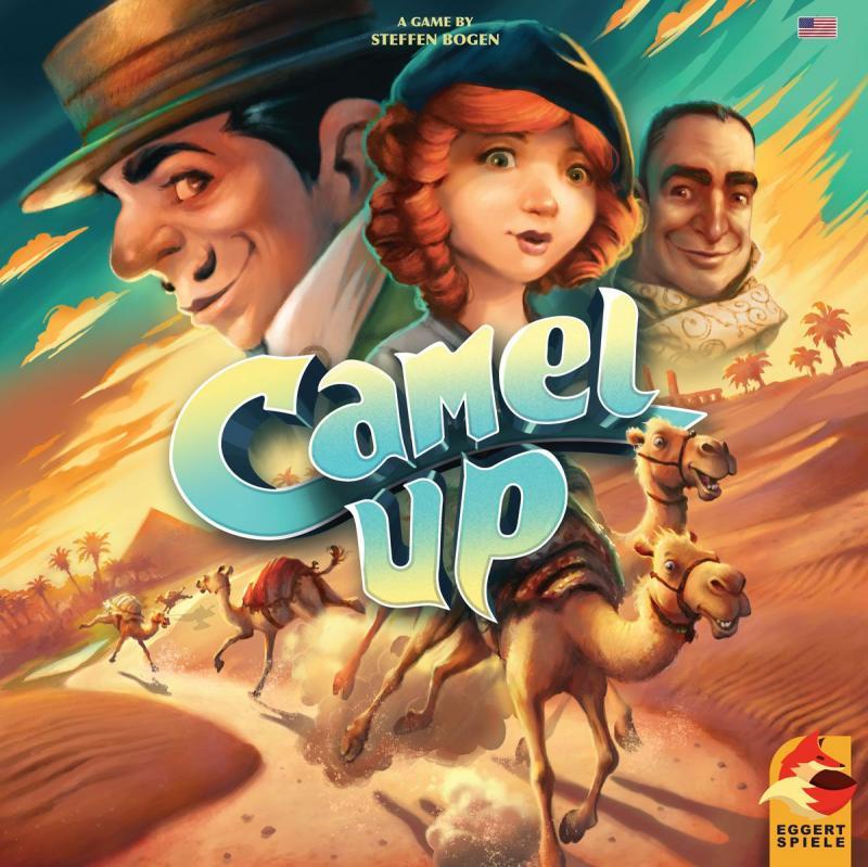 настольная игра Camel Up (Second Edition) Camel Up (второе издание)