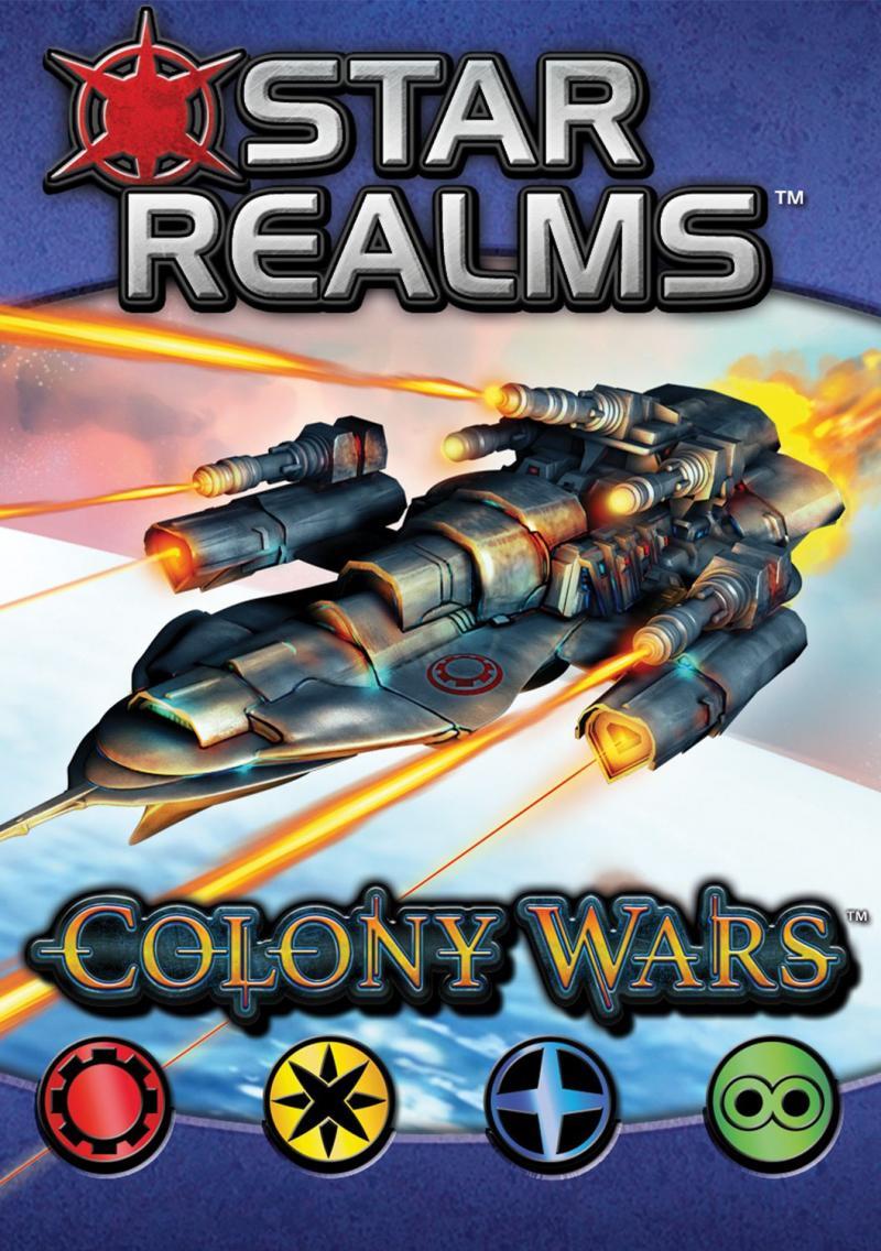 настольная игра Star Realms: Colony Wars Звездные царства: Войны колоний