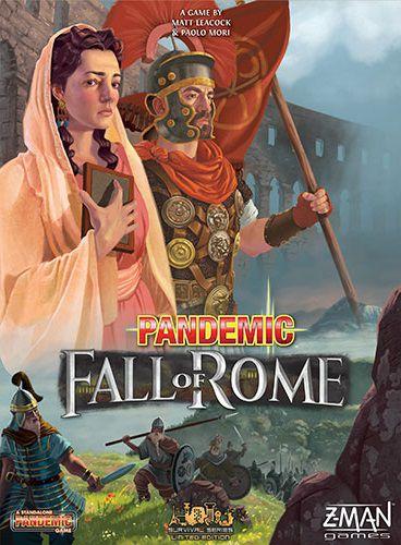 настольная игра Pandemic: Fall of Rome Пандемия: падение Рима