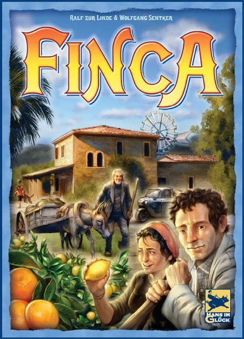 настольная игра Finca