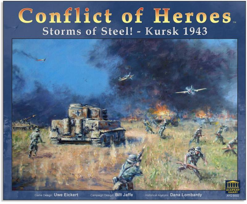 настольная игра Conflict of Heroes: Storms of Steel! – Kursk 1943 Конфликт героев: Стальные бури! - Курск 1943