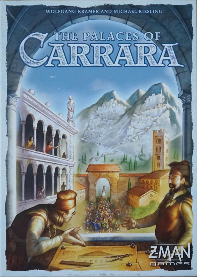 настольная игра The Palaces of Carrara Дворцы Каррары