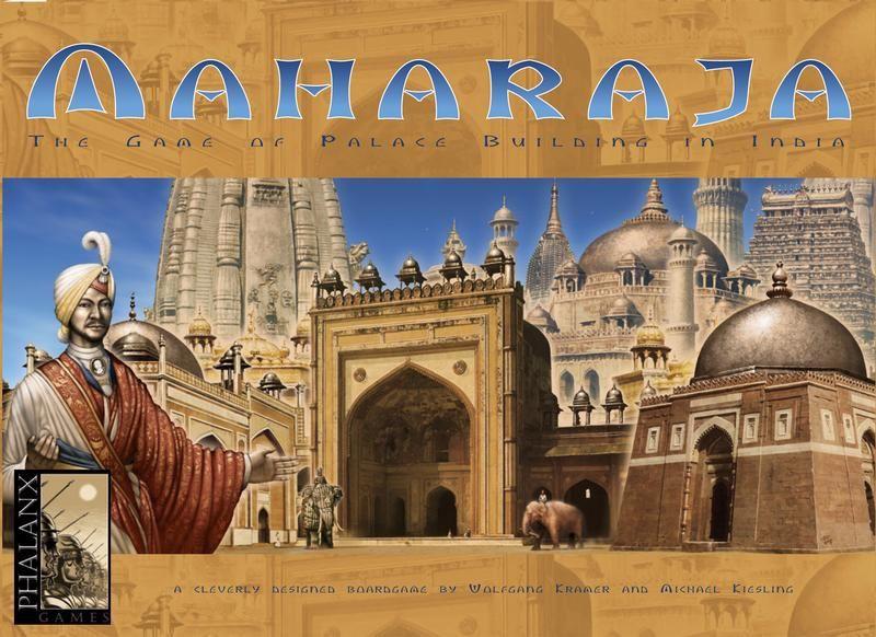 настольная игра Maharaja: The Game of Palace Building in India Махараджа: игра дворцового строительства в Индии