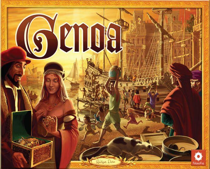 настольная игра Genoa Генуя