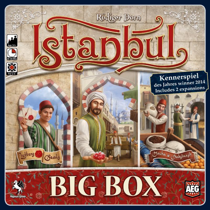 настольная игра Istanbul: Big Box Стамбул: большая коробка