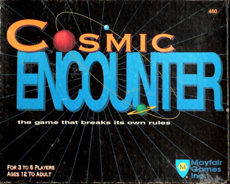 настольная игра Cosmic Encounter