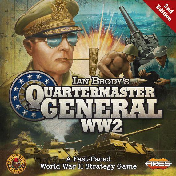 настольная игра Quartermaster General Интендант генерал