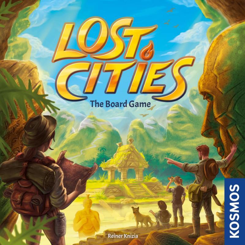 настольная игра Lost Cities: The Board Game Затерянные города: настольная игра