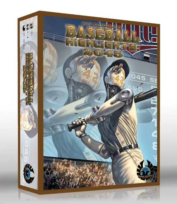 настольная игра Baseball Highlights: 2045 Основные моменты бейсбола: 2045