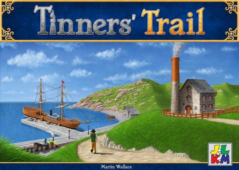 настольная игра Tinners' Trail Тиннерс Трейл