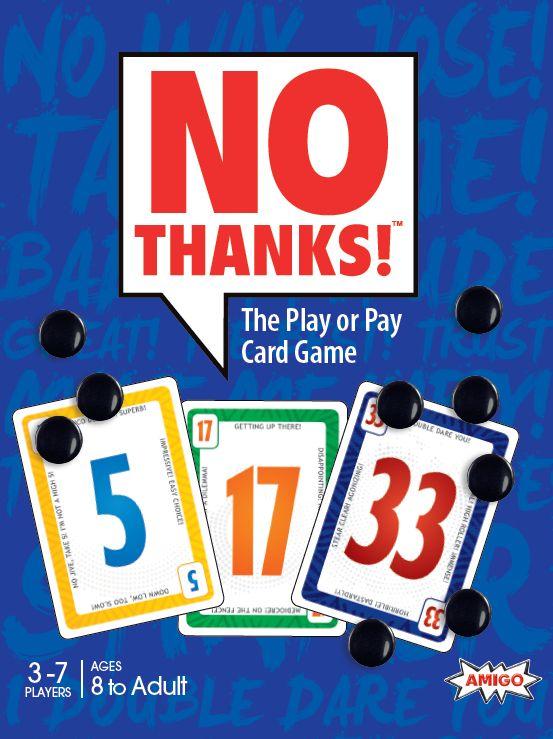 настольная игра No Thanks! Нет, спасибо!