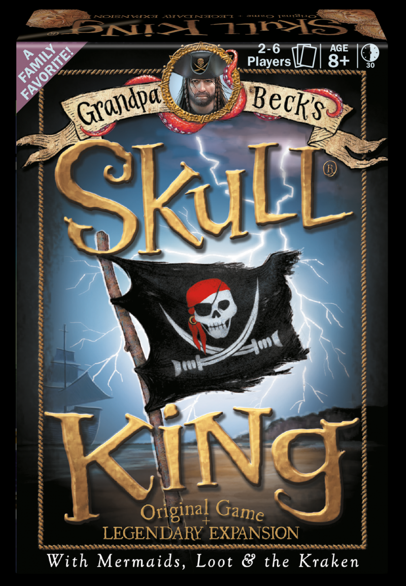 настольная игра Skull King Череп Короля