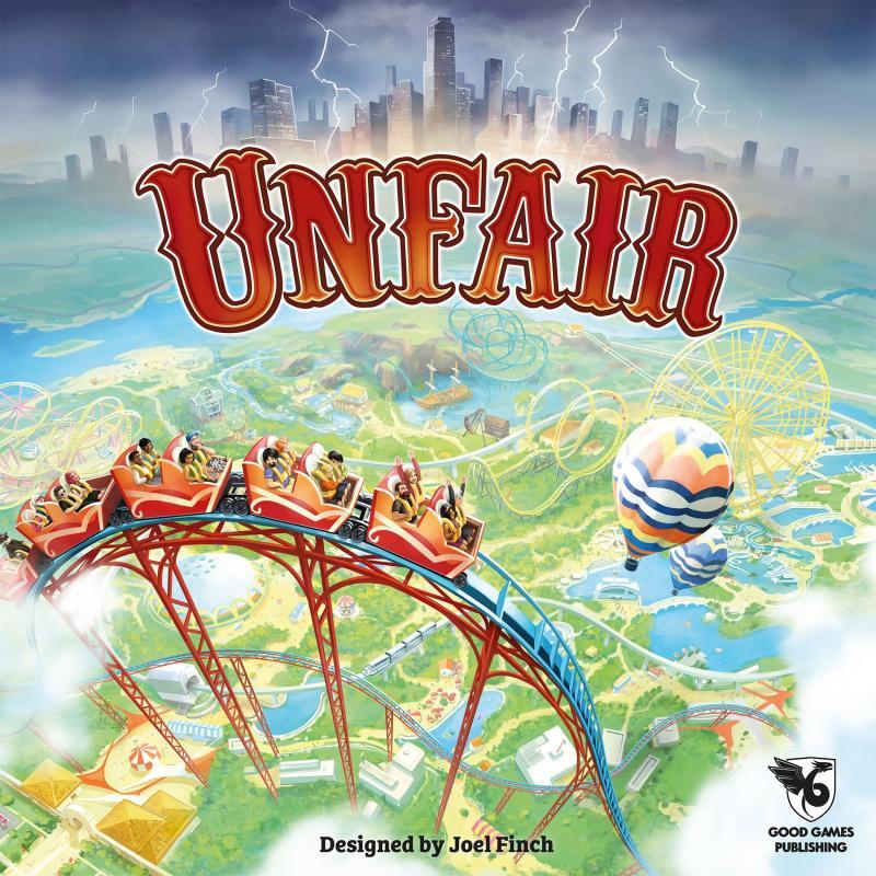 настольная игра Unfair Недобросовестный