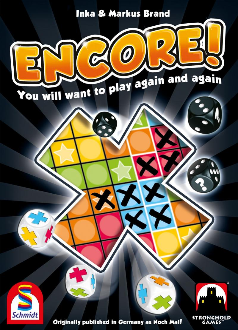 настольная игра Encore! На бис!
