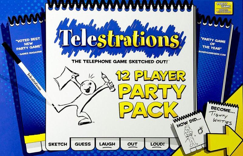 настольная игра Telestrations: 12 Player Party Pack Telestrations: Пакет на 12 игроков
