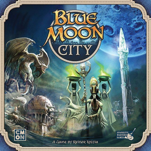 настольная игра Blue Moon City Город голубой луны