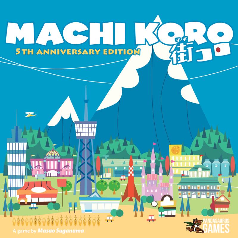 настольная игра Machi Koro Мачи Коро