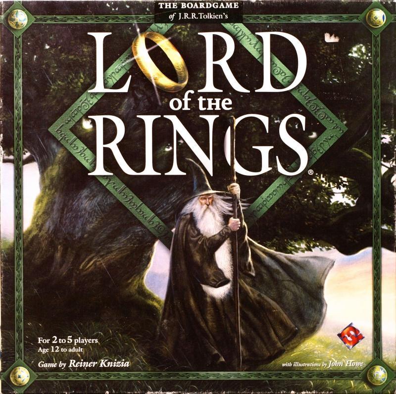 настольная игра Lord of the Rings Властелин колец