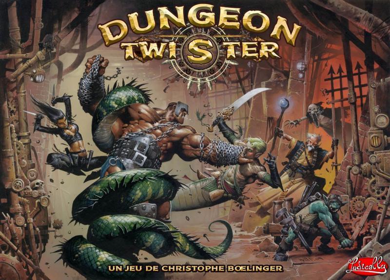 настольная игра Dungeon Twister 2: Prison Подземелье твистер 2: тюрьма