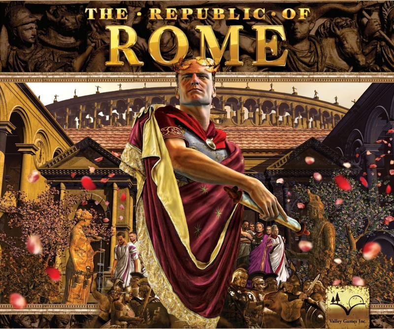 настольная игра The Republic of Rome Римская республика