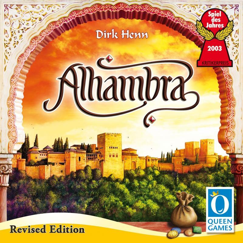 настольная игра Alhambra