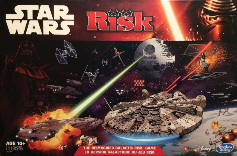 настольная игра Risk: Star Wars Edition Риск: Star Wars Edition