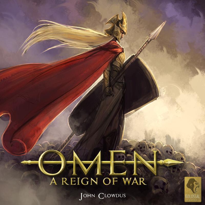 настольная игра Omen: A Reign of War Предзнаменование: Царство войны