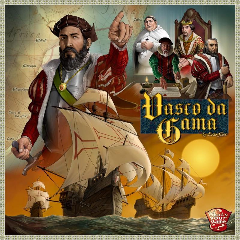 настольная игра Vasco da Gama Васко да Гама